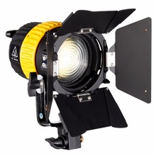 80W LED Spotlightสำหรับสตูดิโอกล้องถ่ายภาพแสงต่อเนื่องBiสี3200K/5600K Dimmer V Mount MINI Soft Light