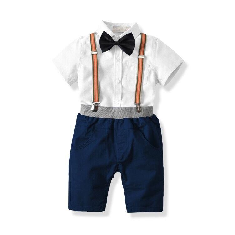 Детская одежда для мальчиков летний топ для маленьких мальчиков ClothingShort рукавом Хлопок Сплошной высокое качество Забавная одежда для малыш...