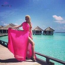 Vintage Beach Sarongs On Sale. Long Bikini Cover Up. Ladies Solid Chiffon Beach Dress.