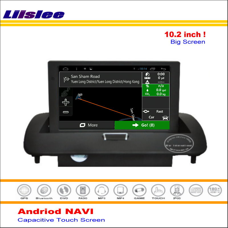 Liislee Car Android GPS NAV Navigation System For <font><b>Volvo</b></font> C30 / <font><b>C70</b></font> 2006 ~ 2013 <font><b>Radio</b></font> Audio Video Multimedia ( No CD DVD Player ) image