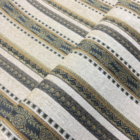 Deluxe Villas Jacquard Chenille Fabric For Hotel Home Decoration Upholstery Fabric