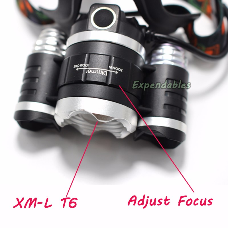 13000LM LED L2+2R5 Headlamp Headlight Head Lamp lighting Light Flashlight Torch Lantern Fishing+18650 battery+Car USB Charger