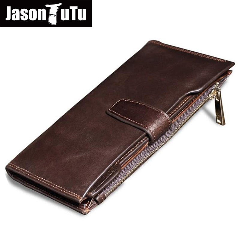 Genuine leather Men wallets Long Purse for men dollar money bag Male wallet  Real Cowhide carteira masculina Good quality FB4053 kawaii blue purse cartoon anime fallout shelter wallets dollar price men money bags leather card short wallet carteira masculina