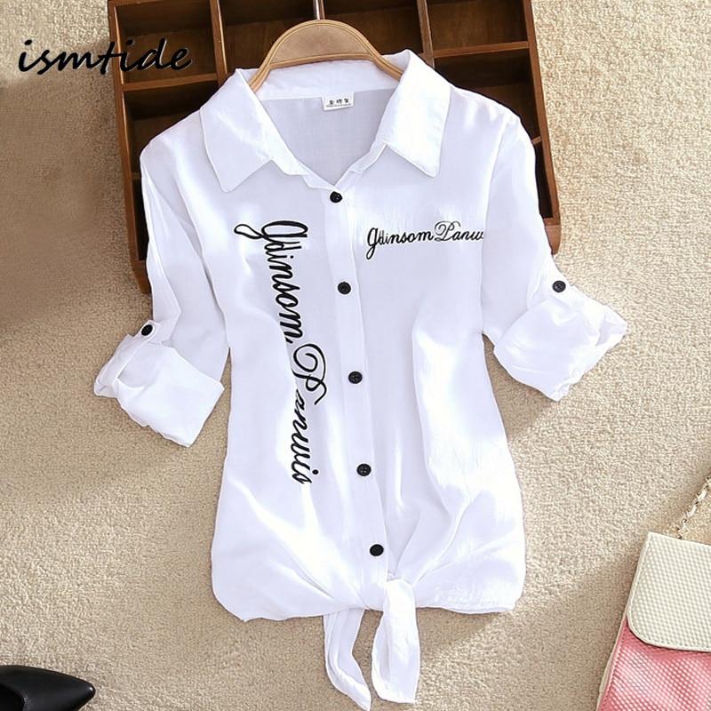 Női ingek Fehér blúzok Kimono nyári top női pamut ingek ujjú állítható hossza fordítsa le nyakörv alkalmi nyomtatási kardigán