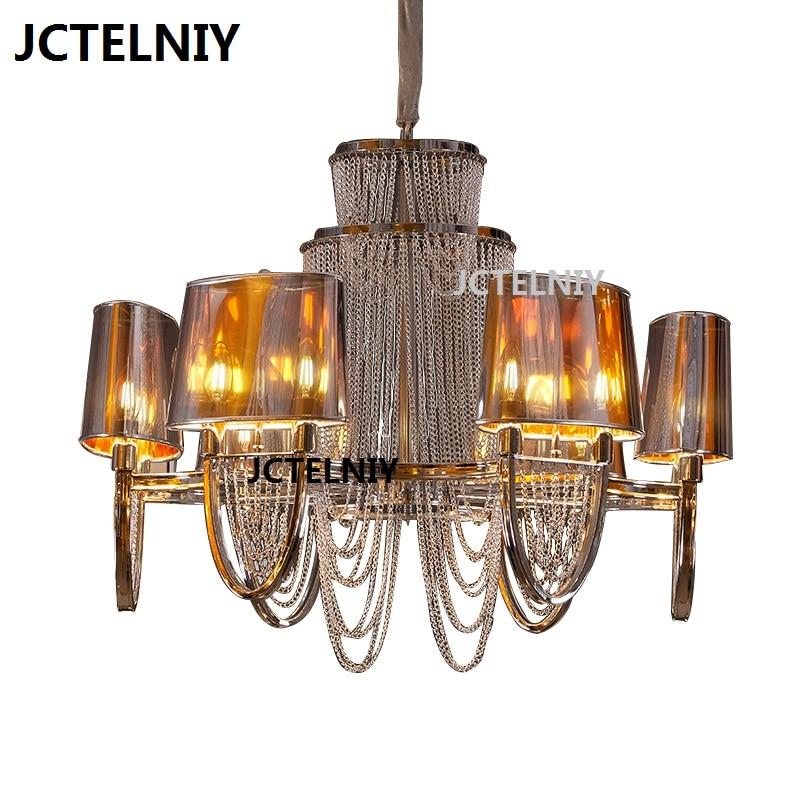 Nordic chandelier luxury chain tassel lamp lights sitting room - Indoor Lighting