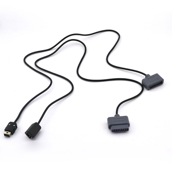 Cable de extensión de Joystick controlador 20 piezas todo en uno para S-NES W-II miniN-ES S-FC consola de juegos