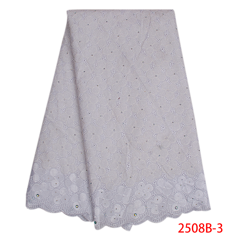 2019 Nigerian Lace Fabric High Quality Lace African Swiss Voile Lace In Switzerland For Wedding Dresses