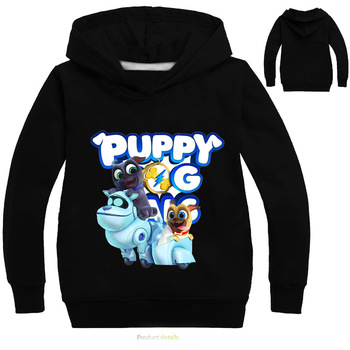 Boys T shirt Summer Hoodies Cartoon Puppy Dog Pals 3D Print Tee Tops For Boy Girls Tshirts Children Clothing Sweatshirts Outwear