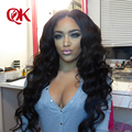 QueenKing hair products Peruvian Virgin Hair With Closure Peruvian Body Wave Lace Closure With Hair Bundles Peruvian Virgin Hair