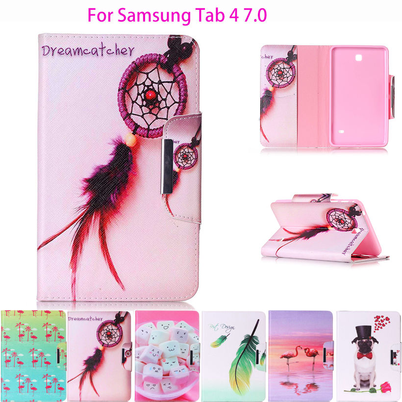 New animal Cartoon Case For Samsung Galaxy Tab 4 7.0 T230 T231 T235 Cover tablet Funda Original PU Leather Silicone Stand Shell luxury panda cartoon tablet pu leather flip stand tablet book case for samsung galaxy tab 4 tab4 7 0 t230 t231 t235 cover