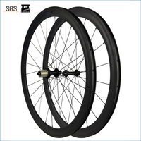 carbon Road wheels bicycle wheels 50mm clincher carbon clincher wheelset with R13 hub