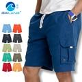 Sea пляж брюки мужчины быстросохнущие свободные большие ярдов равнина отдыха пять минут брюки оснастки шорты шорты