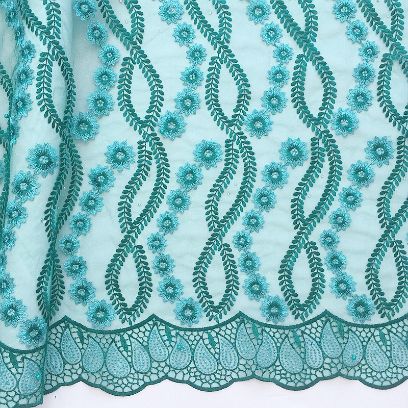 African Lace Fabric 2017 High Quality Lace