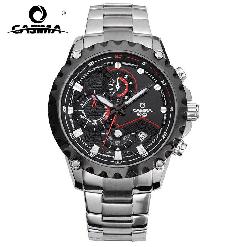 CASIMA Sport men watches fashion brand quartz wrist watch luminous waterproof watch men multifunction relogio mascul #8203