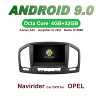 ELANMEY car gps navigation For OPEL INSIGNIA 2008 2009 2011 octa core android 9.0 touch screen CAR DVD multimedia radio headunit