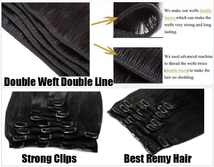 Cheap Clip In Human Hair Extensions 60 Ash Blonde 100g Brazilian