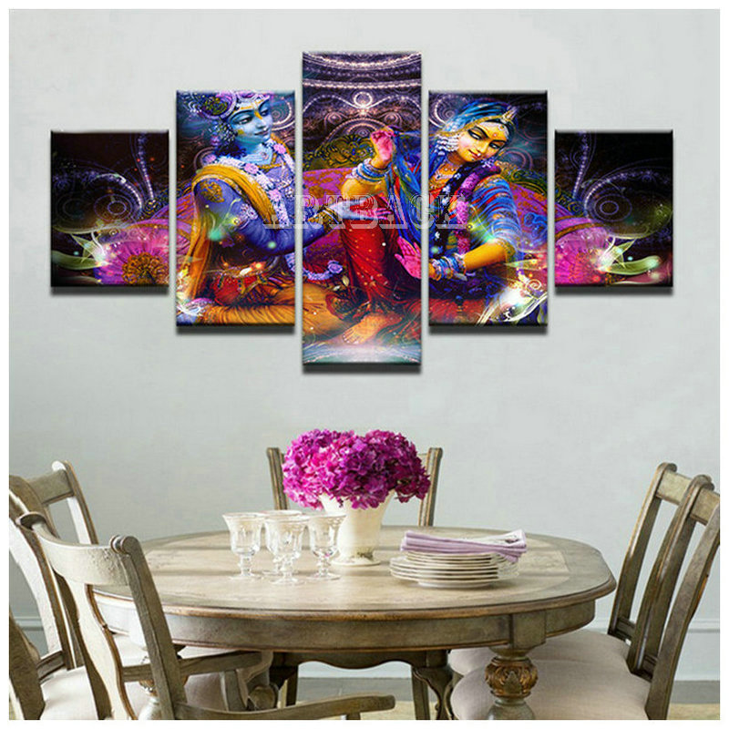 New Full square / round 5d diy diamond painting Indian woman portrait religious 3D diamond embroidery mosaic