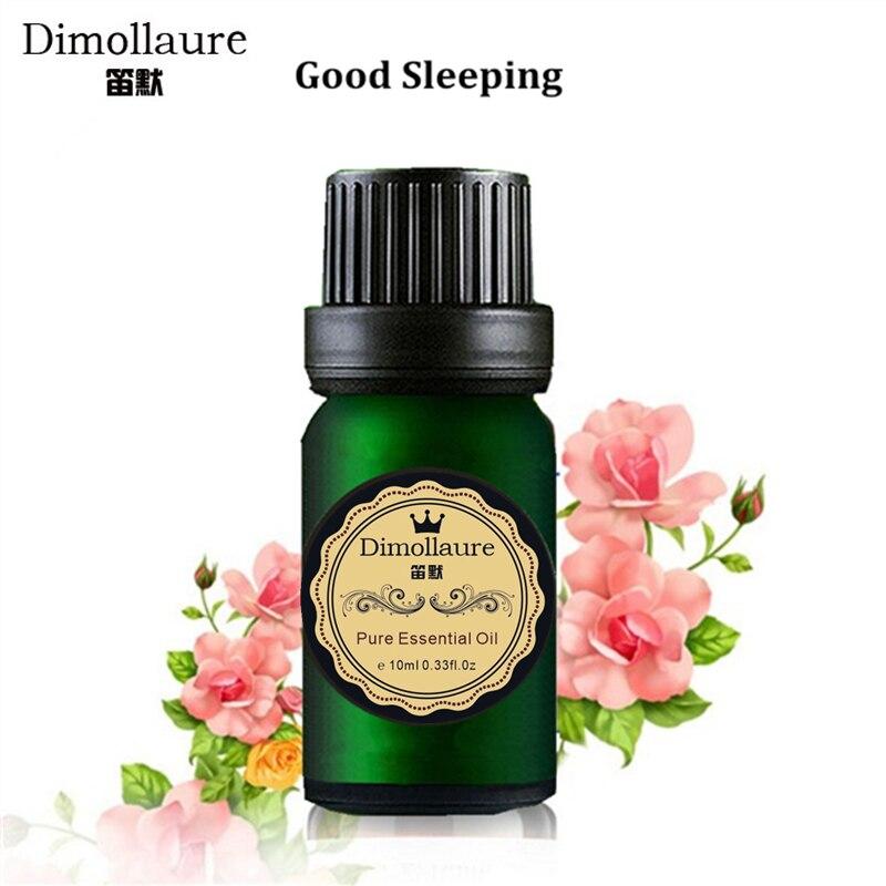 Dimollaure Ulei esențial bun pentru somn Îmbunătățiți insomnia relaxați-vă starea de spirit Aromaterapie ulei de ulei esențial de lavandă