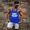 Golds  Tank Top Mens Bodybuilding Tank Tops Stringer Singlet Fitness Sleeveless Shirt Muscle Vest Cotton GASP size