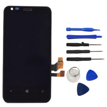 Best Quality For Nokia Lumia 640 N640 LCD Display Touch Screen Digitizer Assembly + Bezel Frame Part + Tools Logo Free Shipping