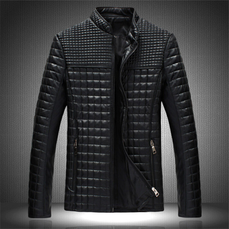 37a31bb481b8 AliExpress Amazon Hot new autumn and winter 2015 men s fashion leather  jacket youth short section of large size casual leather on Aliexpress.com