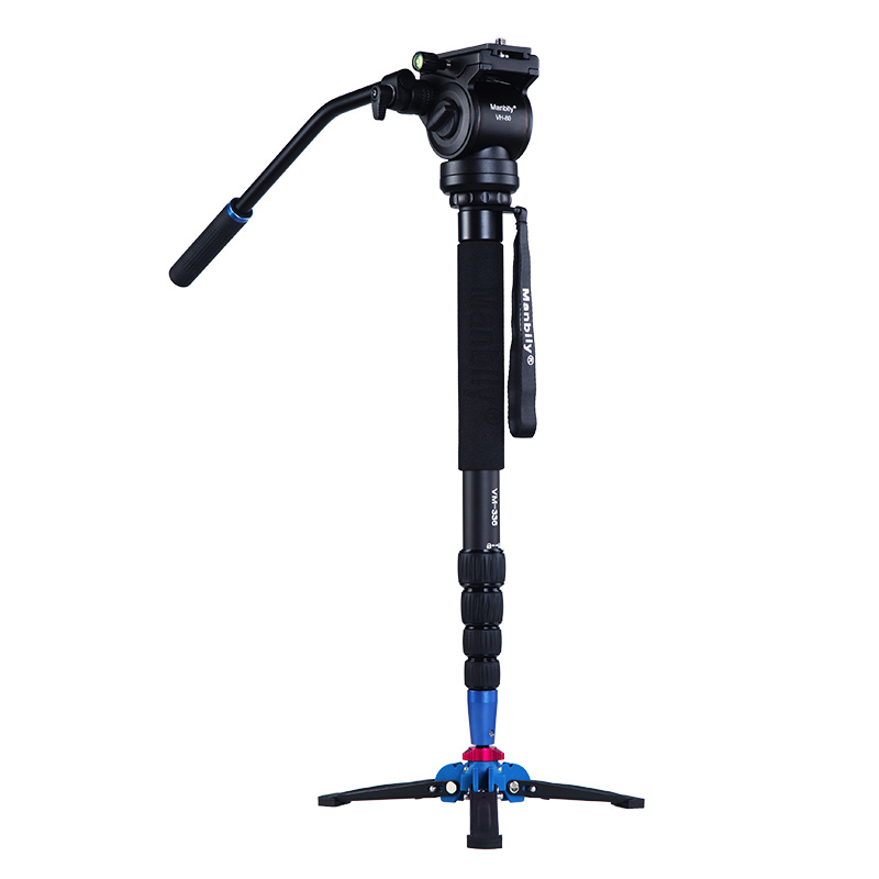 Manbily VM-336 Professional 172 cm Unipod Monopod Aluminum Monopod&Fluid head&Three feet support stand For Camera DSLR oil free air compressor high pressure gas pump spray woodworking air compressor small pump 550w9l