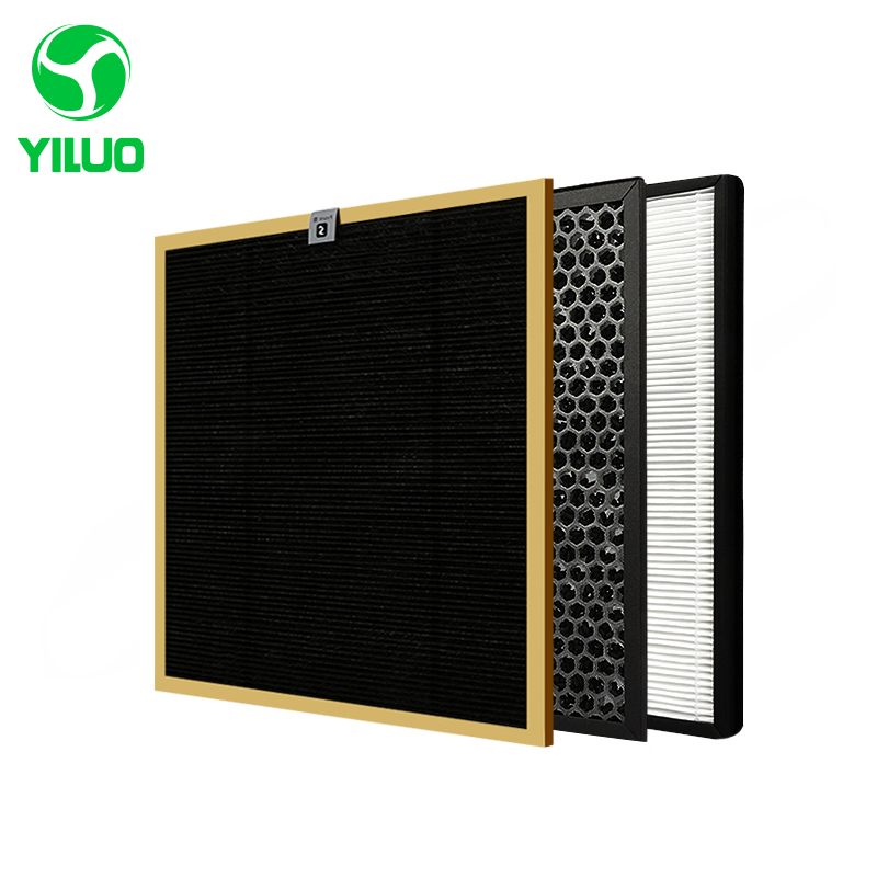 High Efficient Filter Kits Formaldehyde Filter+ Activated Carbon Filter+HEPA Filter for AC4002 AC4004 AC4012 Air Purifier free shipping air purifier parts hepa dust collection filter ac4124 for philips ac4002 ac4004 ac4012 air purifier