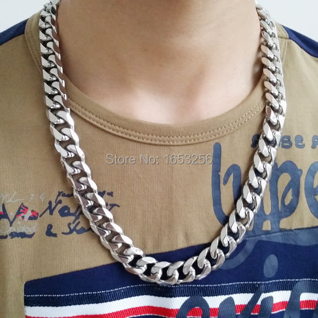 Mens Chain Necklace With Name