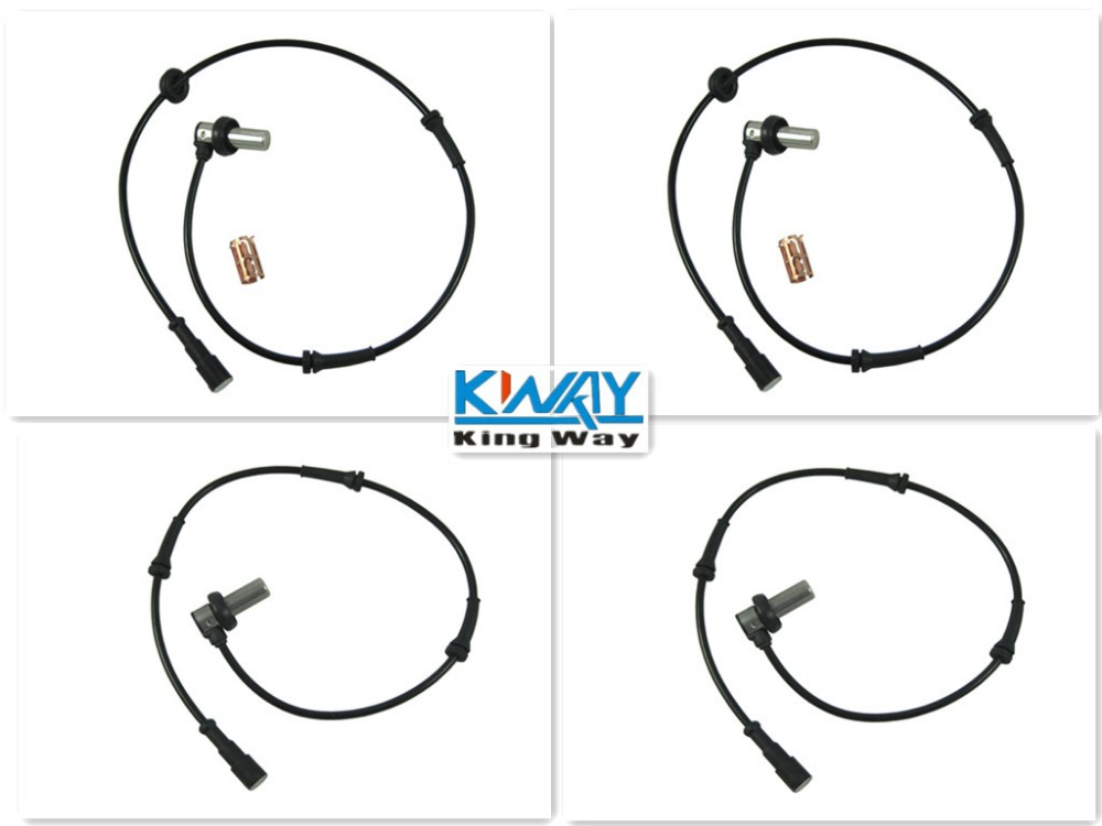 FREE SHIPPING-King Way- 4 PCS ONE SET ABS WHEEL SPEED SENSOR FRONT REAR LEFT RIGHT FOR LANDROVER FREELANDER 1997-2000 SSW100030