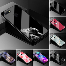 For OPPO A7 Case A5S Tempered Glass Phon