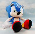 Large 27cm Blue Sonic The Hedgehog Plush Doll Soft Stuffed Figure Doll Key Chain Kids Gift Toys SEGA