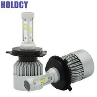 HoldCY H4 9003 LED Car Headlight Bulb Hi Lo Beam Led Headlights 72W 8000LM 6500K Automobile