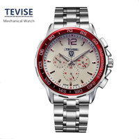 Free Ship Rose Gold Watch Men S Casual Waterproof Quartz Watch Luxury Brand Genuine Leather Mens