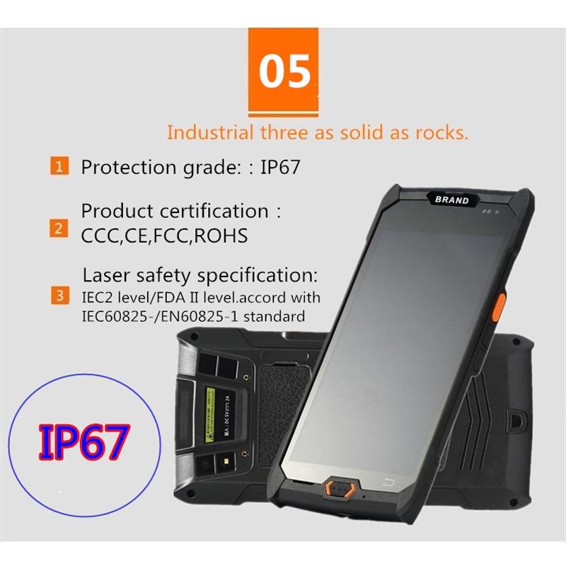 V7000 4g3g2g handheld pda android 6.0 tela