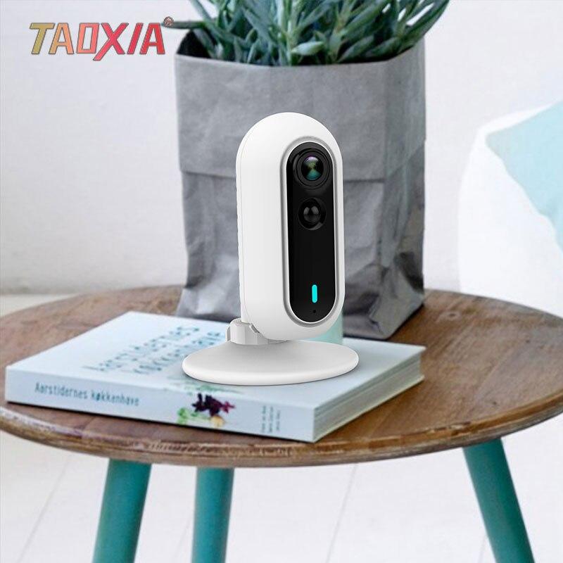 Bébé soins WiFi maison 1080 P surveillance de téléphone Mobile Mode privé corps humain capteur infrarouge alarme caméra sans fil - 2