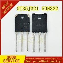 4 pcs/lot 2 pièces GT35J321 + 2 pièces GT50N322 50N322 35J321 TO 3P