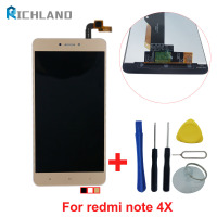 Richland LCD Display Touch Screen For Xiaomi Redmi Note 4X 3GB 32GB Snapdragon 625 5 5