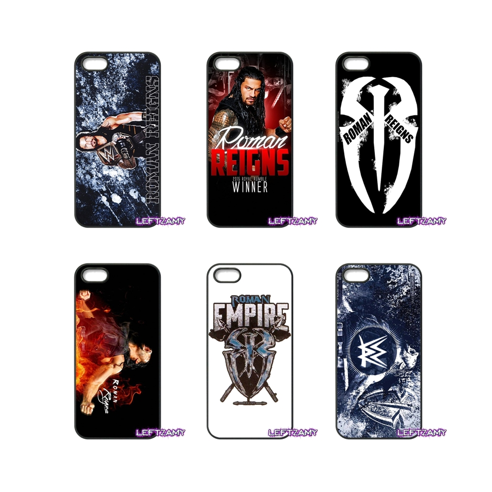 ROMAN REIGNS Logo Wrestling Hard Phone Case Cover For iPhone 4 4S 5 5C SE 6 6S 7 8 Plus X 4.7 5.5 iPod Touch 4 5 6
