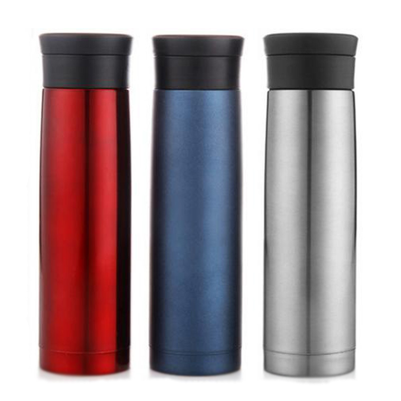 High grade Car Business People Vacuum Cup Stainless Steel Business Water Bottle Gentle Man Thermos Cup