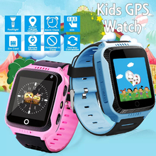 Q528 GPS Kids Smart Watch with Camera Flashlight Baby SOS Call Children Smartwatch Location Tracker