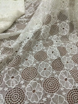 Latest African French net Lace Fabric with sequins High Quality ZH-1116112 tule lace fabric