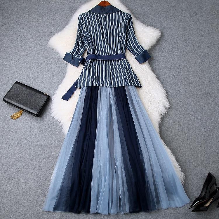 Style Marque Européenne Vêtements Mode De Partie Luxe 2019 Ensembles Piste Ws03185 Femmes Design CqvY6w