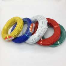 Free shipping high temperature silicone cable 0.3 0.5 0.75 1 1.5 2 square 18AWG 20AWG high quality wire 3core