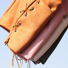 Mini Lace Up Bandage Skirt