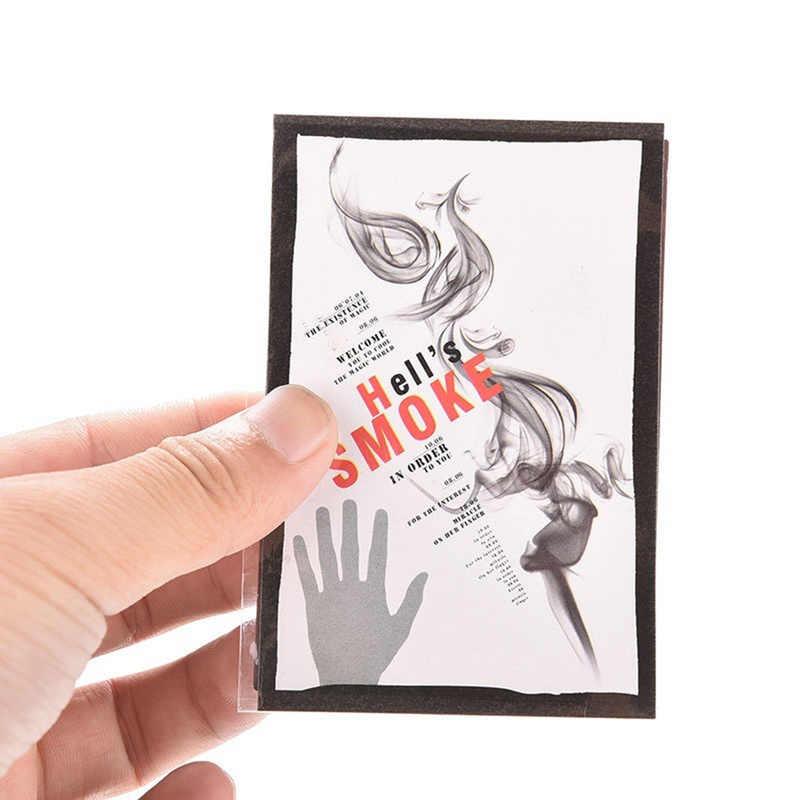 10 шт. волшебный дым от пальцев советы волшебный трюк сюрприз Шуточный розыгрыш мистический Забавный волшебный трюк игрушки для взрослых дропшиппинг