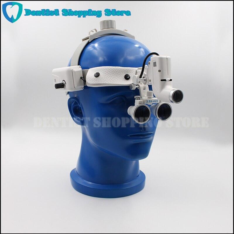 5 W LED High quality head wear Surgical Medical Dental good spotlight Head Light Lamp Headlight