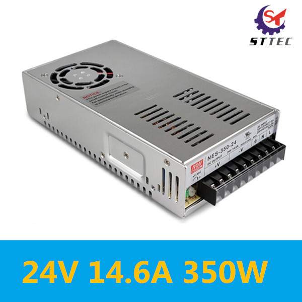 24V 14.6A 350W Switch Power Supply Switching Driver Adapter Transformer for LED Strip Light AC 110V-220V Free Shipping 24v 20a power supply adapter ac 96v 240v transformer dc 24v 500w led driver ac dc switching power supply for led strip motor