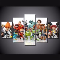 Hot Sale HD Printed Cartoon Characters Painting Canvas Print Room Decor Print Poster Picture Canvas Wholesale