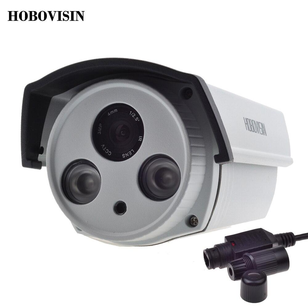 new hobovisin 48v ip camera poe outdoor full hd 720p 960p 1080p 2 array ir leds ip camera. Black Bedroom Furniture Sets. Home Design Ideas