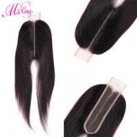 Ms Love 2x6 Lace Closure 2*6 Closure Brazilian Hair Kim K Human Hair Closure Non Remy Middle Part Natural Hair Extension